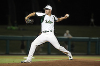 South Florida Bulls pitcher Kyle Parker #28 delivers a pitch during a game against the Illinois State Redbirds at the USF Baseball Complex on March 14, 2012 in Tampa, Florida.  South Florida defeated Illinois State 10-5.  (Mike Janes/Four Seam Images)