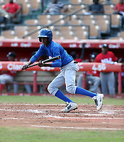 Ryson Polonius participates in the MLB International Showcase at Estadio Quisqeya on February 22-23, 2017 in Santo Domingo, Dominican Republic.