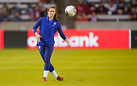 HOUSTON, TX - FEBRUARY 03: Andi Sullivan #6 of the United States warms up during a game between Costa Rica and USWNT at BBVA Stadium on February 03, 2020 in Houston, Texas.