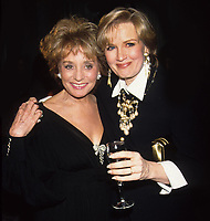 Barbara Walters Diane Sawyer 1992 Photo By Adam Scull/PHOTOlink
