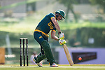 Captain Sarel Erwee of South Africa hits a shot during Day 1 of Hong Kong Cricket World Sixes 2017 Group A match between South Africa vs Pakistan at Kowloon Cricket Club on 28 October 2017, in Hong Kong, China. Photo by Yu Chun Christopher Wong / Power Sport Images