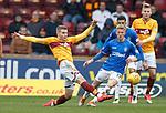 07.04.2019 Motherwell v Rangers: Chris Cadden and Ross McCrorie