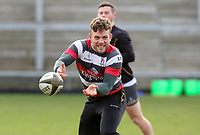 Thursday 18th February 2021 | Ulster Rugby Captain's Run<br /> <br /> Ian Madigan during the Ulster Rugby Captain's Run held at Kingspan Stadium, Ravenhill Park, Belfast, Northern Ireland, ahead of the Glasgow PRO14clash on Friday night. Photo by John Dickson / Dicksondigital