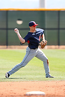 Cord Phelps, Cleveland Indians 2010 minor league spring training..Photo by:  Bill Mitchell/Four Seam Images.