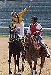Rachel Alexandra and Calvin Borel celebrate after winning The Fleur De Lis Handicap (grII) at Churchill Downs. 06.12.2010