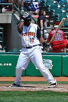 Brooklyn Cyclones DH Richard Lucas (10) during game against the Williamsport Crosscutters at MCU Park on August 3, 2011 in Brooklyn, NY.  Brooklyn defeated Williamsport 3-2.  Tomasso DeRosa/Four Seam Images