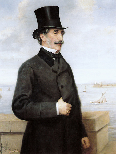 The Marquis of Conyngham, first Commodore of the Royal St George Yacht Club from 1845-1862.