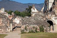 Antigua, Guatemala.  Ruins of La Recoleccion Church and Monastery.