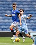 25.07.2020 Rangers v Coventry City: Ryan Jack and Callun O'Hare