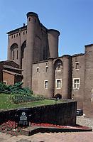 Europe/France/Midi-Pyrénées/81/Tarn/Albi: Le palais de la Berbie XII ème siècle - Musée de Toulouse Lautrec
