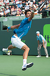 March 29 2016: Novak Djokovic (SRB) defeats Dominic Thiem (AUT) by 6-3, 6-4, at the Miami Open being played at Crandon Park Tennis Center in Miami, Key Biscayne, Florida. ©Karla Kinne/Tennisclix/Cal Sports Media