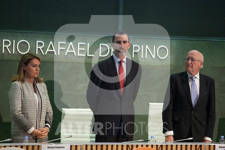 King Felipe VI of Spain attends the XVIII CODESPA Awards ceremony in Madrid, Spain. January 16, 2015. (ALTERPHOTOS/Victor Blanco)