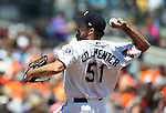 Reno Aces' Josh Collmenter pitches against the Iowa Cubs at Greater Nevada Field in Reno, Nev., on Tuesday, May 17, 2016. <br />Photo by Cathleen Allison