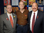 From left: Richard Bang, Jack Adams and Jim Hundemer at the World AIDS Day Luncheon benefitting AIDS Foundation Houston at the Four Seasons Hotel Tuesday Dec. 01,2009. (Dave Rossman/For the Chronicle)