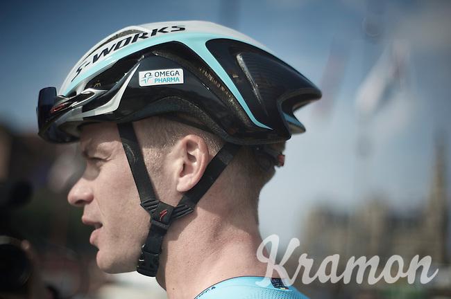 Iljo Keisse (BEL) at the start<br /> <br /> 2nd World Ports Classic 2013<br /> stage 1: Antwerpen (BEL) - Rotterdan (NLD)<br /> 165km