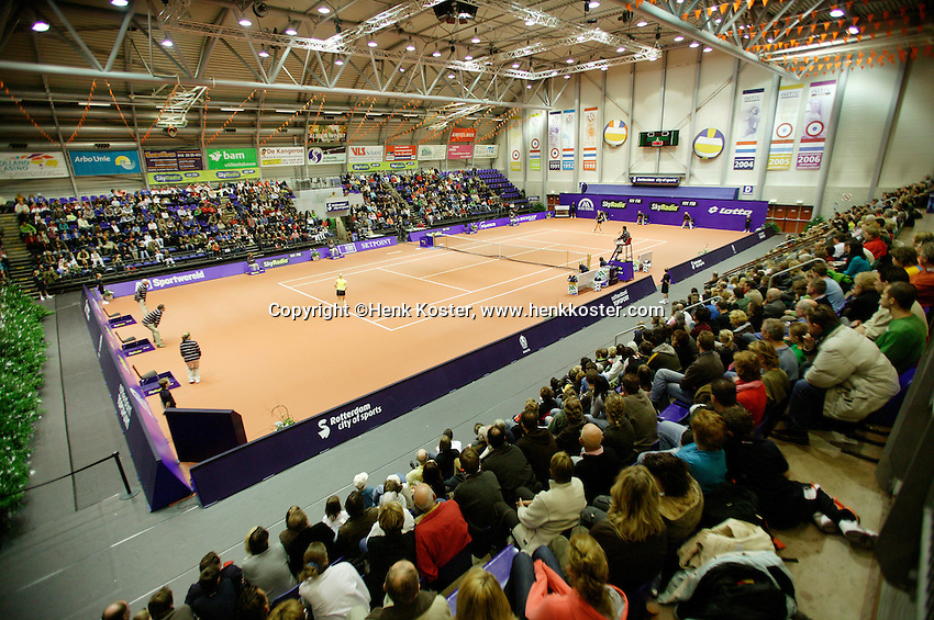 16-12-06,Rotterdam, Tennis Masters 2006, Centercourt