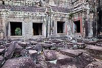 Cambodia.  Preah Khan Ruins, 12th. Century.