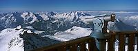 Europe/France/Rhône-Alpes/38/Isère/l'Alpe-d'Huez: Panorama vers les sommets du massif de l'Oisans depuis le sommet du Pic Blanc 3330m