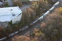 NOV 24 CSX Freight Train Derailment In North Baltimore