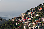 24 MAY 2015, McLeod Ganj, Himachal Pradesh, INDIA:  A vista of McLeod Ganj - the Indian home of the exiled Tibetan leader the Dalai Lama.   Picture by Graham Crouch/The Australian Magazine