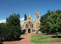 The chapel located at the University of Virginia in Charlottesville, VA.