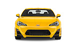 Car photography straight front view of a 2015 Scion FR-S Release 2 Door Coupe Front View