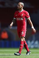 24th April 2021; Anfield, Liverpool, Merseyside, England; English Premier League Football, Liverpool versus Newcastle United; Thiago Alcantara of Liverpool