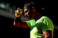 5th June 2021; Roland Garros, Paris France; French Open tennis championships day 9;  Rafael Nadal (Esp)