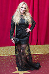 © Licensed to London News Pictures . 16/05/2015 .  The Palace Hotel , Manchester , UK . KIRSTY LEIGH PORTER . The red carpet at the 2015 British Soap Awards , The Palace Hotel , Oxford Road , Manchester . Photo credit : Joel Goodman/LNP