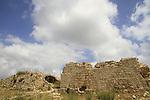 Israel, Jerusalem mountains, ruins of Bet Itab