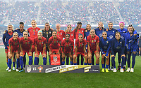 Saint Paul, MN - SEPTEMBER 03: The USWNT during their 2019 Victory Tour match versus Portugal at Allianz Field, on September 03, 2019 in Saint Paul, Minnesota.