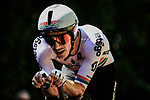South African Champion Daryl Impey (RSA) Mitchelton-Scott in action during Stage 13 of the 2019 Tour de France an individual time trial running 27.2km from Pau to Pau, France. 19th July 2019.<br /> Picture: ASO/Pauline Ballet | Cyclefile<br /> All photos usage must carry mandatory copyright credit (© Cyclefile | ASO/Pauline Ballet)