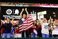 PHILADELPHIA, PA - AUGUST 29: Fans during a game between Portugal and USWNT at Lincoln Financial Field on August 29, 2019 in Philadelphia, PA.