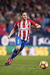 Koke of Atletico de Madrid in action during the La Liga match between Atletico de Madrid and RCD Espanyol at the Vicente Calderón Stadium on 03 November 2016 in Madrid, Spain. Photo by Diego Gonzalez Souto / Power Sport Images
