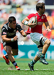 New Zealand vs Portugal during the HSBC Sevens Wold Series match as part of the Cathay Pacific / HSBC Hong Kong Sevens at the Hong Kong Stadium on 28 March 2015 in Hong Kong, China. Photo by Xaume Olleros / Power Sport Images