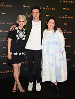 """PASADENA, CA - JUNE 7: Kate Mara, Nick Robinson, and Executive Producer/Director Hannah Fidell attends FX's """"A  TEACHER"""" FYC Drive-In Screening And Panel at the Rose Bowl on June 7, 2021 in Pasadena, California. (Photo by Frank Micelotta/FX/PictureGroup)"""
