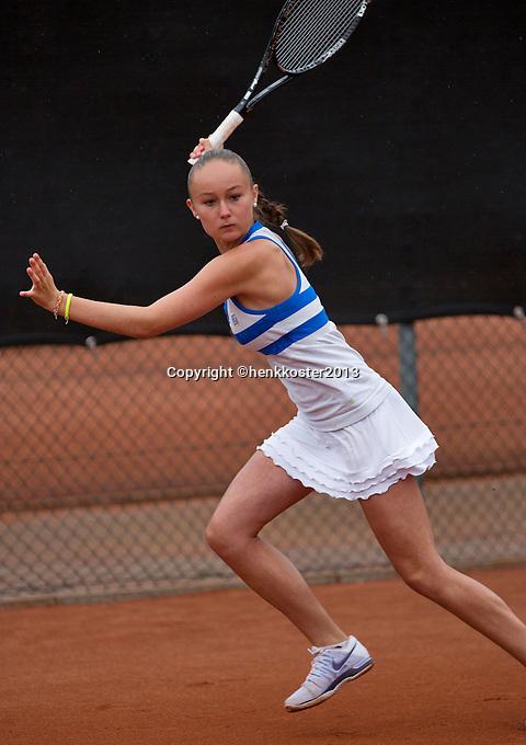 07-08-13, Netherlands, Rotterdam,  TV Victoria, Tennis, NJK 2013, National Junior Tennis Championships 2013, Romy Kerkhove<br /> <br /> <br /> Photo: Henk Koster