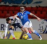 23.12.2020 St Johnstone v Rangers: Craig Conway with Borna Barisic