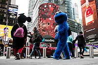 NEW YORK, NY - May 10: View of the Nasdaq Building in Times Square on May 10, 2021 in New York City. The Nasdaq company falls sharply as rising commodity prices renew concerns about rising inflation. (Photo by Pablo Monsalve / VIEWpress)