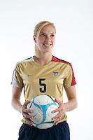 Lindsay Tarpley. U.S. Women's National Team portrait photoshoot. June 8, 2007 in Carson, CA.