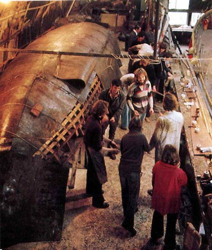 The building of the Brendan currach in Crosshaven Boatyard offered a very special olfactory experience