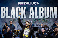 SÃO PAULO, SP 30.06.2019: PETROBRAS SINFÔNICA-SP - A Orquestra Petrobras Sinfônica, sob regência do maestro Felipe Prazeres, apresentou na noite deste domingo, o disco Black Album da banda norte americana Metallica, no Allianz Parque Hall, zona oeste da capital paulista. (Foto: Ale Frata/Código19)