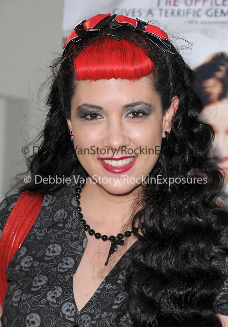 """Rachel Federoff attends the L.A. Premiere of """"A Little Help"""" held at Sony Pictures Studios in Culver City ,California on July 14,2011                                                                               © 2011 DVS / Hollywood Press Agency"""