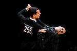 Francesco Andreani and Francesca Longarini of Italy during the WDSF GrandSlam Standard on the Day 2 of the WDSF GrandSlam Hong Kong 2014 on June 01, 2014 at the Queen Elizabeth Stadium Arena in Hong Kong, China. Photo by AItor Alcalde / Power Sport Images