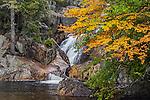 Smalls Falls in Phillips, Maine, USA