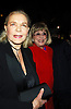 """Lauren Bacall and Phyllis Newman ..at The 7,486th performance of """" The Phantom of the     Opera"""" on Broadway, when it became the Longest-Running Show in Broadway History on January 9, 2006 at The Majestic Theatre. ..Photo by Robin Platzer, Twin Images"""