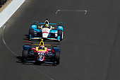 Verizon IndyCar Series<br /> Indianapolis 500 Carb Day<br /> Indianapolis Motor Speedway, Indianapolis, IN USA<br /> Friday 26 May 2017<br /> Jack Harvey, Michael Shank Racing with Andretti Autosport Honda, Gabby Chaves, Harding Racing Chevrolet<br /> World Copyright: Phillip Abbott<br /> LAT Images<br /> ref: Digital Image abbott_indy_0517_27274