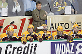 Ryan Stoa, Ryan Potulny, Don Lucia, Mike Howe, Danny Irmen, Phil Kessel - The University of Minnesota Golden Gophers defeated the University of North Dakota Fighting Sioux 4-3 on Friday, December 9, 2005, at Ralph Engelstad Arena in Grand Forks, North Dakota.