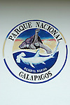 Logo du parc national des galapagos<br /> Galapagos National park logo