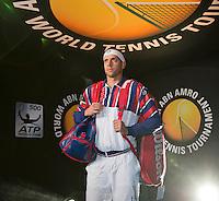 Februari 09, 2015, Netherlands, Rotterdam, Ahoy, ABN AMRO World Tennis Tournament, Gilles Muller (LUX) <br /> Photo: Tennisimages/Henk Koster